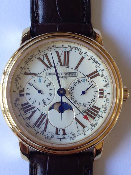 Frédérique Constant Persuasion Complete Calendar New Old Stock SOLD