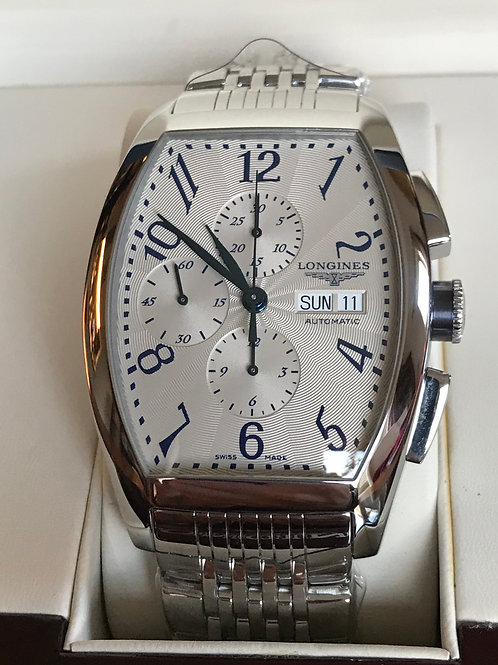 Longines Evidenza XL Chronograph Day/Date Automatic Valjoux 7750 SOLD