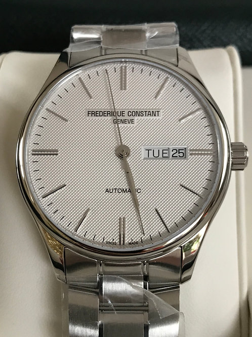 Frederique Constant Classic Index Day Date Automatic 41mm Steel + Extras SOLD