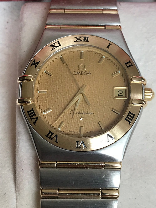 Omega Constellation Steel/Yellow Gold 35mm Quartz Serviced + Polished SOLD