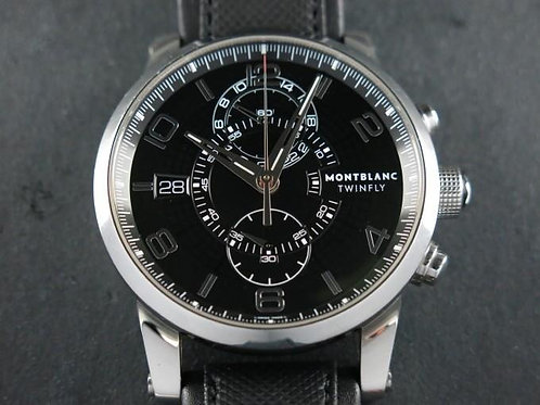 Montblanc Timewalker Twinfly Chronograph Extra Bracelet Complete Set SOLD