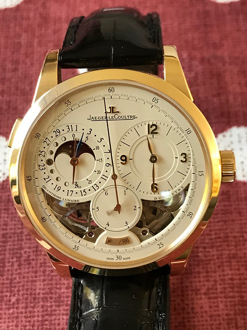 Jaeger LeCoultre Duometre Yellow Gold LTD ED EXTREMELY RARE SOLD