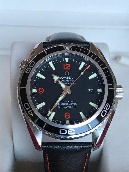 Omega Seamaster Planet Ocean 45mm Orange Index Complete Set SOLD