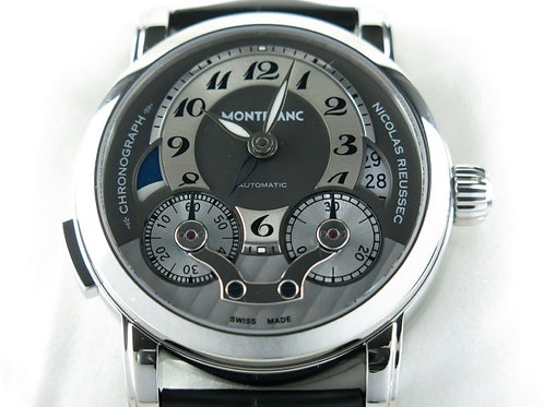 Montblanc Nicolas Rieussec Single Button Chronograph GMT NEW SOLD