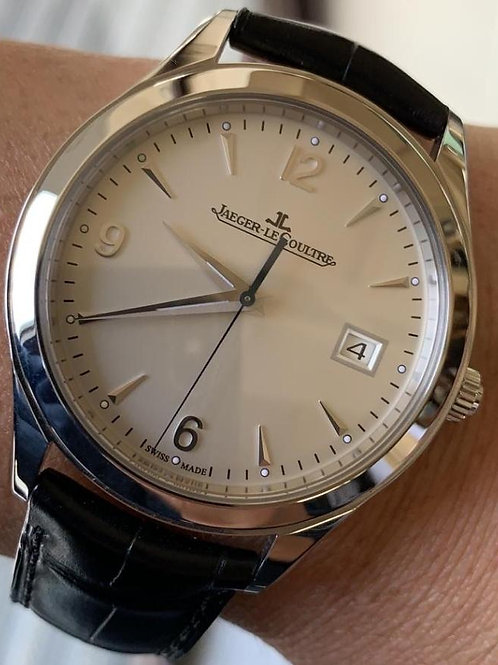 Jaeger LeCoultre Master Control Date Steel 39mm Complete Set SOLD