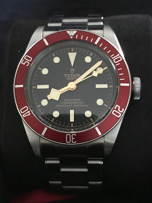 Tudor Black Bay Red Manufacture LNIB Complete Set Warranty Left SOLD