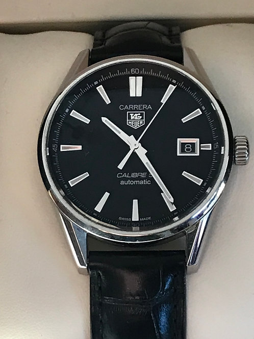 TAG Heuer Carrera Calibre 5 Automatic 39mm Complete Set MINT SOLD