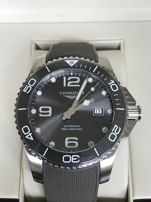 Longines Hydroconquest 43mm Automatic Grey Ceramic LNIB SOLD