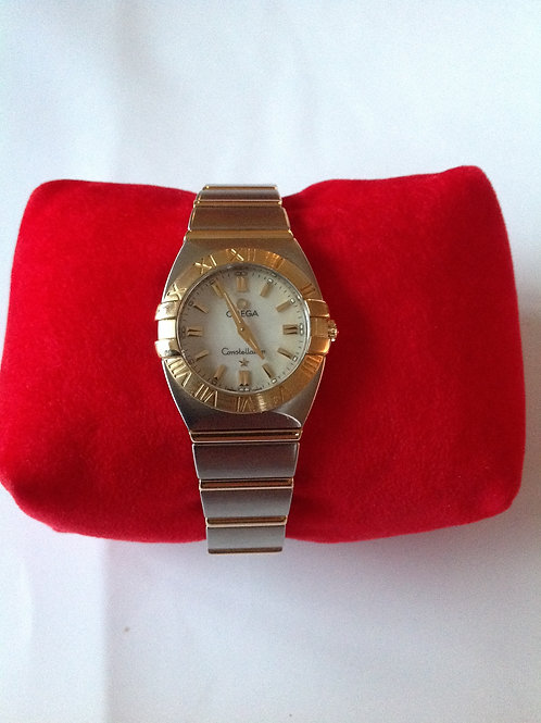 Omega Constellation Steel/Yellow Gold 24mm Quartz SUPER SALE! SOLD