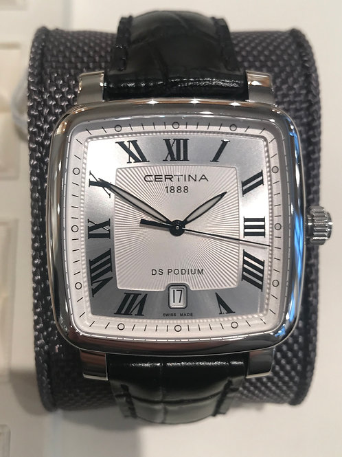 Certina DS Podium Square Quartz Classic Dial SOLD