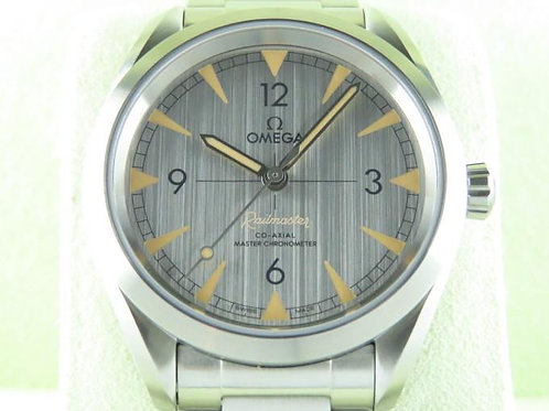 Omega Seamaster Railmaster Co-Axial Master Chronometer Grey Dial Bracelet SOLD