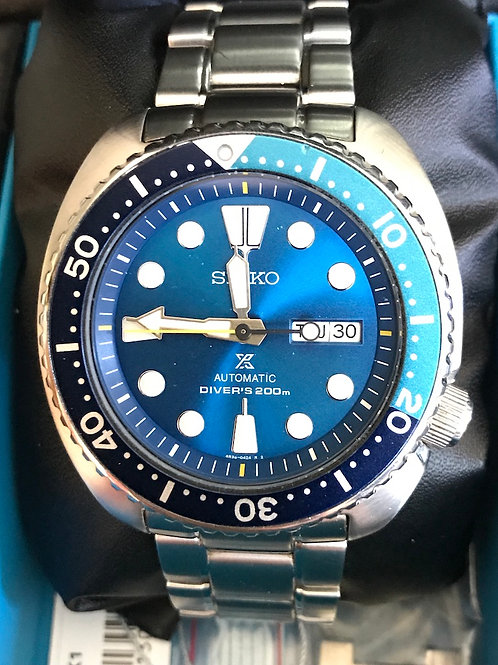 "Seiko Turtle Prospex ""Blue Lagoon"" LTD ED RARE Complete Set SOLD"
