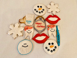 Dental Holiday Cookies