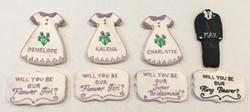 Wedding Party Cookies
