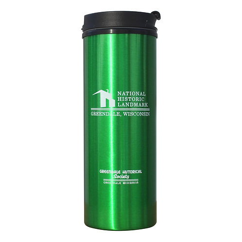 National Historic Landmark - 17 oz Green Tumbler