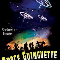 Affiche de théatre - Space Guinguette