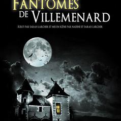 Affiche de théatre - Les Fantômes de Villemenard