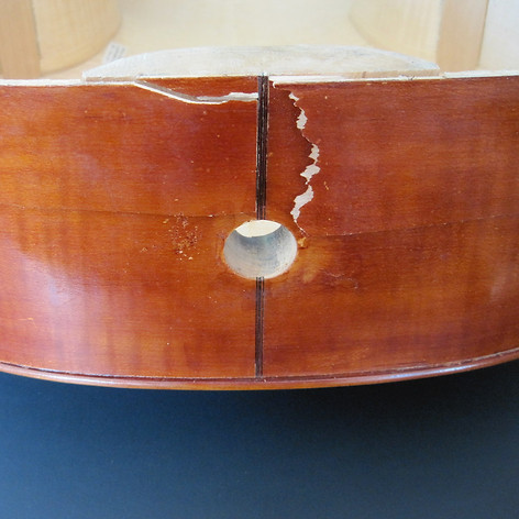 Cornellisen Cello Restoration