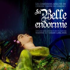 Affiche de théatre - La Belle Endormie
