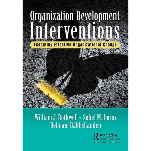 Organization Development Interventions - Book - Paperback