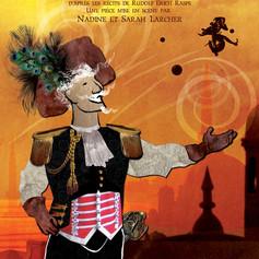 Affiche de théatre - Le Baron de Munchausen