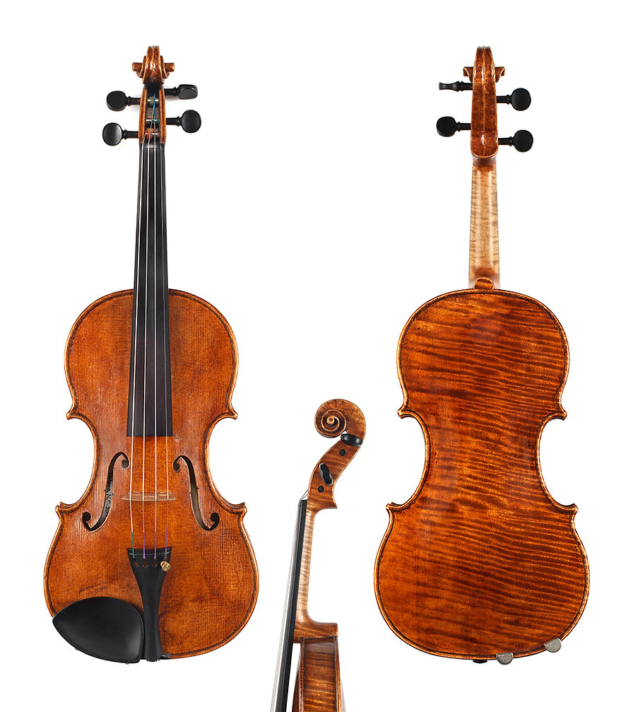 Handmade copy of 1742 Lord Wilton by Guarneri del Gesu