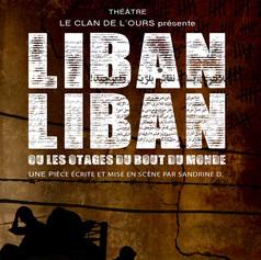 Affiche de théatre - Liban Liban
