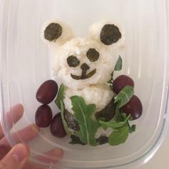 Bento Box (Panda Onigiri)