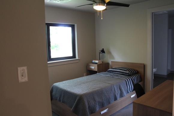 Wesley Dorm Bedroom