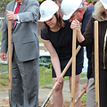 U of A Wesley Groundbreaking