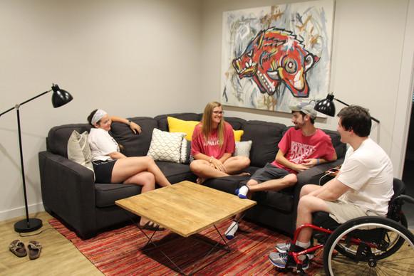 Wesley Dorm Living Room