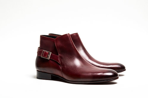 Burgundy Jodhpur boots