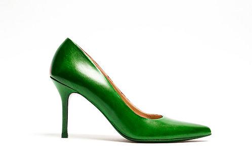 Green sexy heel