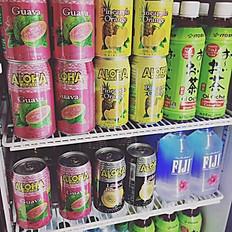 Aloha Soda Cans