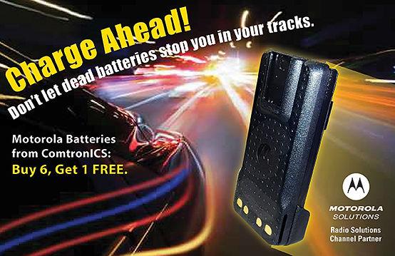 ComtronICS: Buy 6 Get 1 FREE Motorola batteries