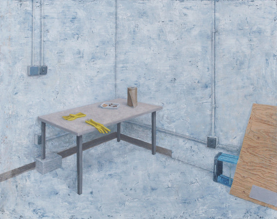 Table with Gloves