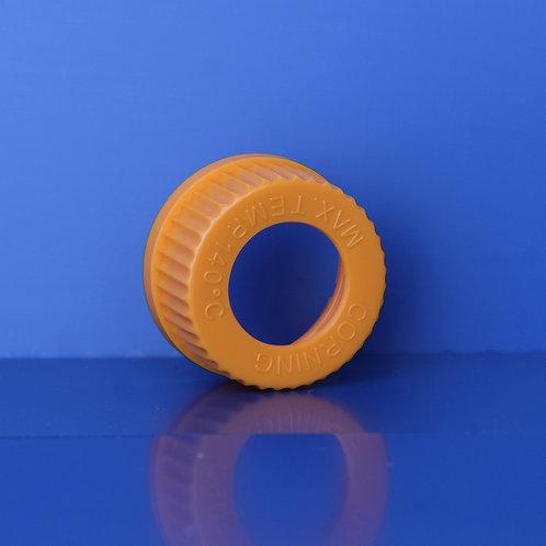 Cap, Orange G45 with hole