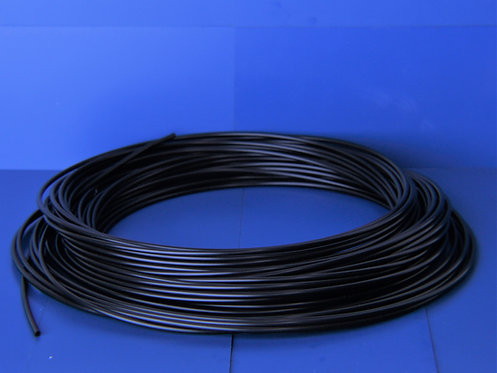 "Tubing, PE black 1/4"" x10ft"