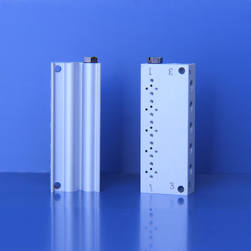 Manifold, W solenoid valve