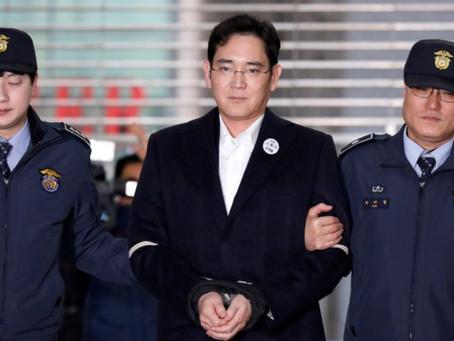 Έφεση επί της 5ετούς φυλάκισης κατέθεσε ο αντιπρόεδρος της Samsung
