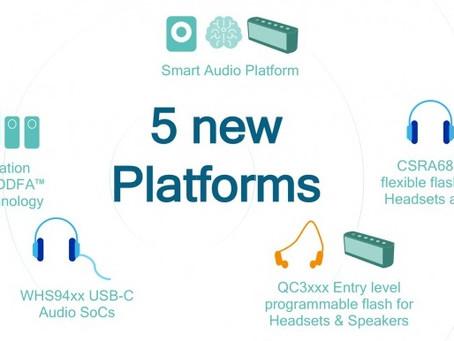Η Qualcomm ανακοίνωσε νέα chips για smart speakers, ακουστικά USB Type-C και άλλες συσκευές
