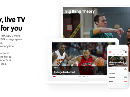 YouTube TV: Νέα συνδρομητική υπηρεσία της Google με 40 κανάλια για 35 δολ. τον μήνα