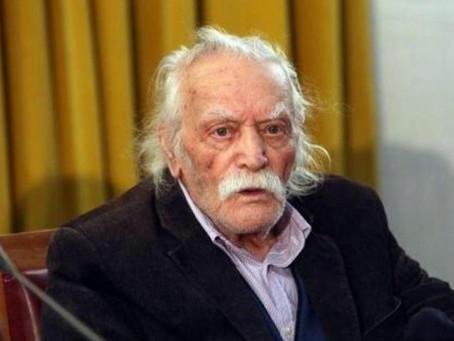 Έφυγε σήμερα από την ζωή σε ηλικία 98 χρόνων ο Μανώλης Γλέζος