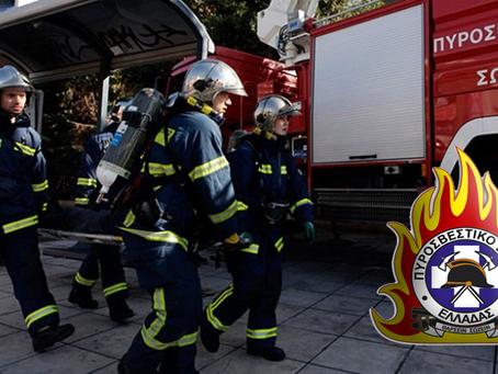 Σωτήρια αποδείχθηκε η άμεση επέμβαση της πυροσβεστικής για εγκλωβισμένο τραυματία στο Γύθειο