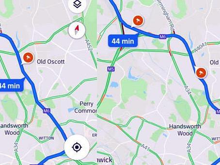 Τα μπλόκα της τροχαίας θα εμφανίζονται στο Google Maps