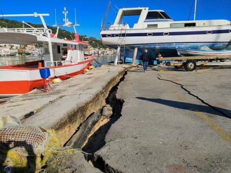 Σεισμός Τρόμος Χτύπησε Τη Ζάκυνθο
