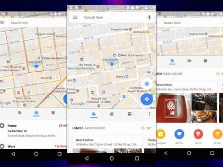 Εύκολη πρόσβαση σε σημαντικές πληροφορίες δίνουν πλέον τα Google Maps