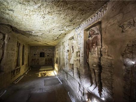 Βρέθηκε αιγυπτιακός τάφος που χρονολογείται πριν από 4.400 χρόνια – Βίντεο