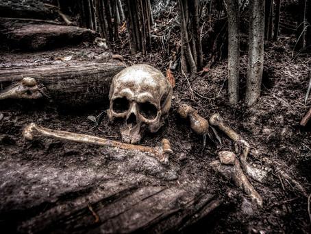 Κρυμμένο μυστήριο πίσω από ανθρώπινα οστά