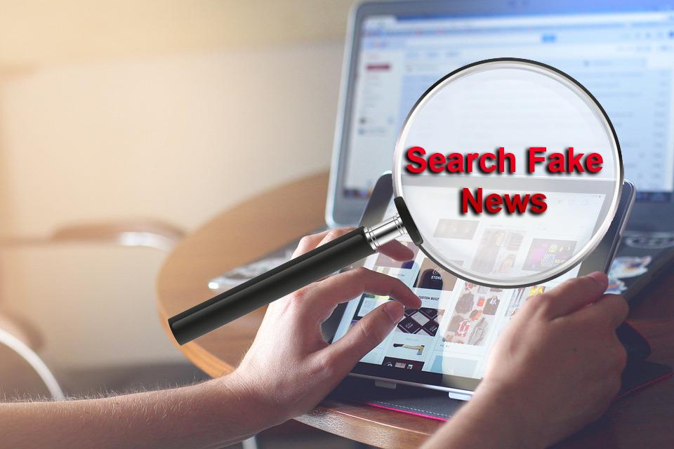 search fake news